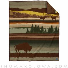 The Buffalo Wilderness design recalls a peaceful time long, long ago. It was the time when millions of buffalo roamed grassy plains from Oregon to the Great Lakes, from Canada to Mexico. Today our Nat