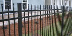 I really like how these fences look and how simplistic they are. The color is really nice and ornamental which is something you don't see a lot. I'll have to look for something similar when I can finally start building my home!