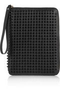 Christian Louboutin   Cris spiked leather iPad case   $695
