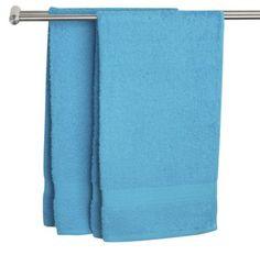 Turkosa handdukar till blå rummet? Är det tillräckligt blått?