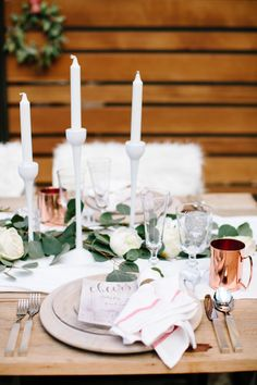 Nordic holiday table inspiration: http://www.stylemepretty.com/living/2015/12/24/nordic-holiday-inspiration/ | Photography: Gladys Jem - http://www.gladysjem.com/