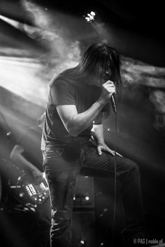 Ray Alder with Fates Warning - concert in Krakow, Poland, Nov 2014