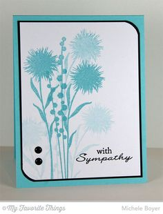 If you're like me, you never have a sympathy card when you need one. Or if you do have one, it...