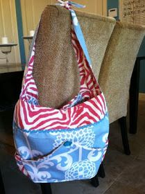 Prudently Painted Vintage  A diaper bag tutorial Návody Na Šití 073b63887d4