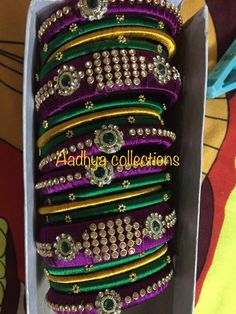 Every piece of jewelry tells us a story..and those beautiful bangles on your beautiful hands plays a greatest role in your story..we provide a large collection of bangles that will suits you and will make your story as unique as you..AADHYA COLLECTIONS..contact us:- Sruthi.rrk@gmail.com