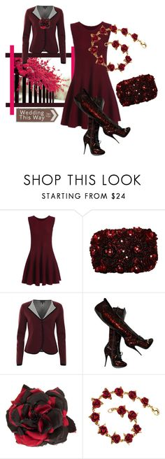 """""""Wedding"""" by rellenj ❤ liked on Polyvore featuring Alice + Olivia, Armani Jeans, Viktor & Rolf and Alessandra Rich"""
