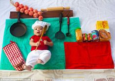 Baby that's cute! Loving parents create funny pictures of their four-month-old son # Parenting baby Baby that's cute! Loving parents create funny pictures of their four-month-old son Monthly Baby Photos, Newborn Baby Photos, Baby Poses, Newborn Pictures, Baby Boy Newborn, Baby Baby, Baby Ruth, Fun Baby, Baby Crib