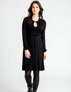 Maternity & Nursing Keyhole Dress