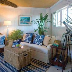 Tropical Living Room Design