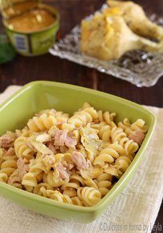 Pasta con tonno e carciofini Dulcisss in forno by Leyla