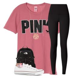 """""""&&; it's my birthday 🎉"""" by strawberry-styles ❤ liked on Polyvore featuring lululemon, The North Face, Urban Decay, Eos, Lord & Taylor and Converse"""