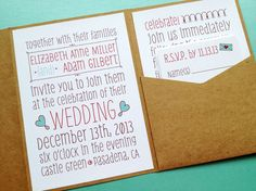 Wedding Invitation  Poster Doodles by LittleSparkCreations on Etsy, $5.95