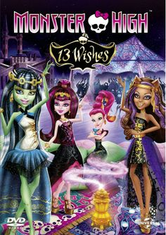 Monster High: 13 Wishes [Blu-ray] Barbie Dvd, Barbie Dolls, Personajes Monster High, Monster High Party, Movies To Watch Online, Watch Movies, Ever After High, Mystery Thriller, Party