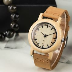 93e83a4bcd1724 2017 Brand Women s Wooden Geneva Bracelets Watch With Wood Watches For  Ladies Leather Quartz Casual Retro