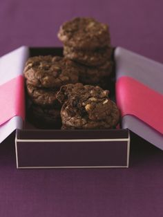Ghirardelli Ultimate Double Chocolate Cookies http://ghirardelli.com/recipes-tips/recipes/ultimate-double-chocolate-cookies