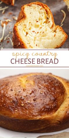 SPICY COUNTRY CHEESE BREAD Kick your senses into a frenzy after a bite of this easy Easter treat! Spicy Country Cheese Bread is your new favorite sandwich or snack. Nothing beats the aroma fresh, home Easter Appetizers, Yummy Appetizers, Appetizer Recipes, Dinner Recipes, Cheese Recipes, Easter Recipes, Turkey Recipes, Beef Recipes, Chicken Recipes