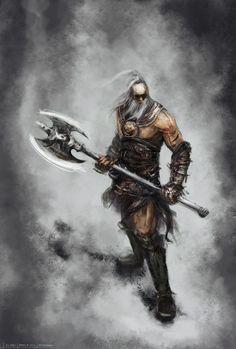 Barbarian by weihuaix