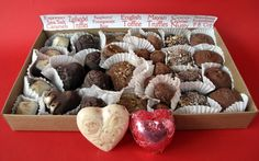 No Whey Chocolates Valentines Day Chocolate Collection.