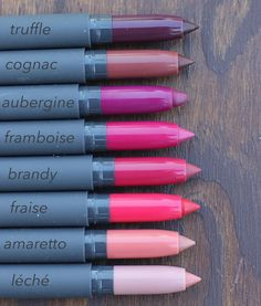 My absolute favorite lip product of all time by Bite Beauty! The Matte Crme lip pencils.
