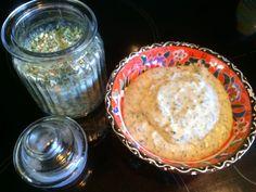 Sausjes gemaakt met ranchkruiden