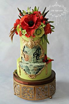 Beauty of the Ancient Rome - Cake by Little Apple Cakes
