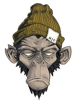 Head Threads monkey illustration by Jessie Orgee
