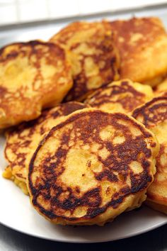 Skillet Fresh Corn Cakes recipe