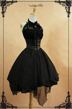Lolitashow Creme gelb schwarze Lolita kurze Stiefel mit Schnürsenkel
