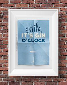 smile, it's gin time www.tommasotino.eu