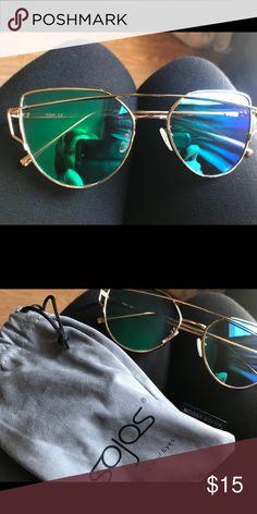 c6050564c07 Sojos Sunglasses Blue green. New. Never worn. Accessories Sunglasses