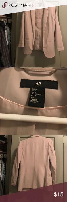 Perfect Condition Cream Blazer Size 6 Perfect Condition Cream Blazer Size 6 H&M Jackets & Coats Blazers