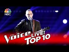 """The Voice 2016 Aaron Gibson - Top 10: """"Rocket Man (I Think It's Going to Be a Long, Long Time)"""" - YouTube"""
