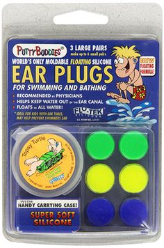 7. PUTTY BUDDIES Floating Earplugs