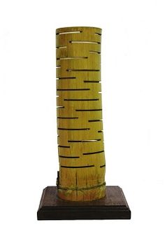 Lámpara de mesa de Bambú - Bambu wood desk lamp Now Available #Art3Mas