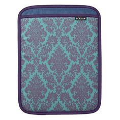Vintage damask pattern iPad case iPad Sleeves