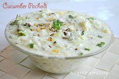 How to make Cucumber Pachadi / Vellarikkai Pachadi / Onam Sadya Recipes: