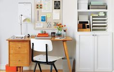 Create a central hub to keep essentials in easy reach and help your household run super-smoothly.