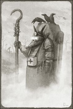 Plague Doctor by Konstantin Kostadinov hton