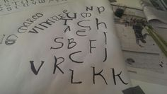 Celtic writting i made in class