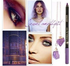 Eye of Horus Jewel Amethyst pencil