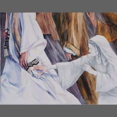 Healing in His Wings- Woman with Issue of Blood | MaryBeth Art