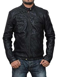 17 Again Zac Efron Oblow Real Leather Jacket 3XL