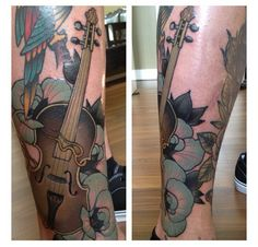 1000 images about tattoo on pinterest violin violin for Independent tattoo lincoln ne