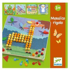 Djeco Lernspiel: Mosaïco Rigolo