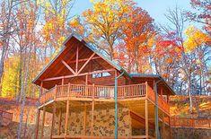 An amazing cabin rental in Gatlinburg, Tennessee soooooo relaxing. Rascals Retreat - Gatlinburg, TN at Elk Springs Resort Vacation Places, Dream Vacations, Vacation Spots, Vacation Ideas, Family Vacations, Gatlinburg Vacation, Gatlinburg Cabin Rentals, Vacation Rentals, Tennessee Cabins