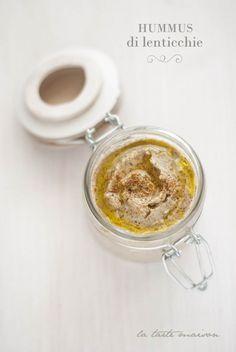 hummus di lenticchie #latartemaison
