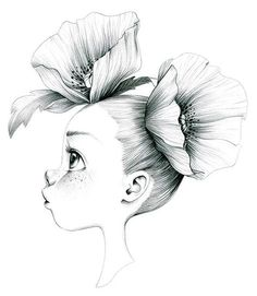 emmanuelle colin © Signed print of an original drawing in graphite on paper Approximate size Digital print on paper Lana 220 Art Drawings Sketches, Cartoon Drawings, Pencil Sketch Art, Dibujos Cute, Coloring Book Pages, Art Sketchbook, Cute Art, Art Girl, Illustration Art