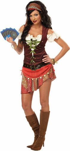 Gypsy costume...one day when I'm done having kids I will be this for halloween. Mommy body has to go first.
