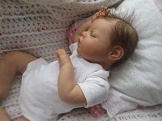 Reborn Baby Girl Doll Noah Reva Schick in Dolls & Bears, Dolls, Clothing & Accessories, Artist & Handmade Dolls | eBay
