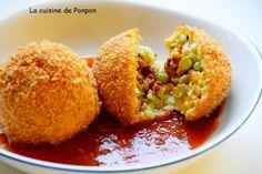 Arancini ou comment utiliser les restes de risotto!